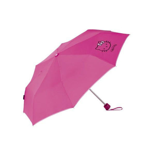 Hopfällbart paraply Hello Kitty (Ø 98 cm)