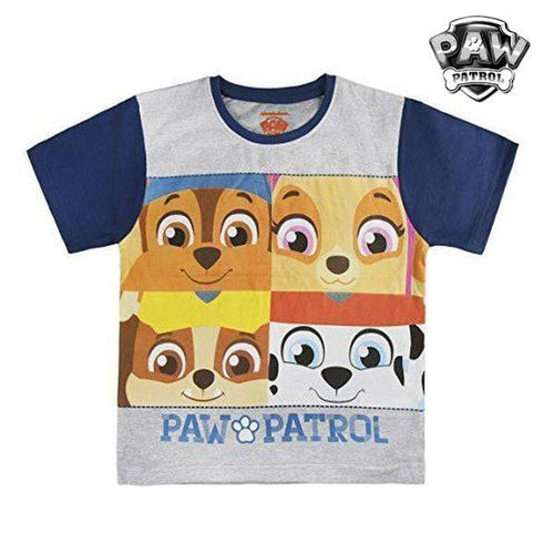 Barn T-shirt med kortärm The Paw Patrol