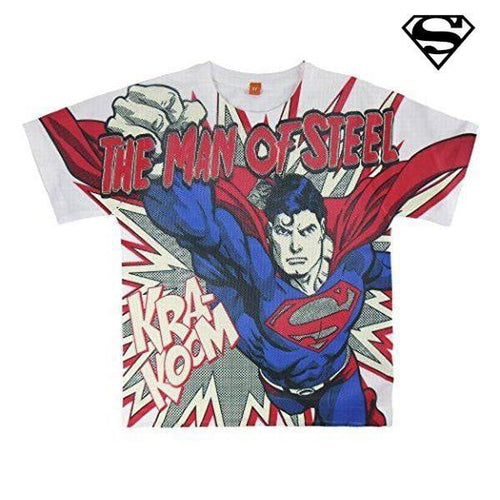 T-shirt med kortärm Superman