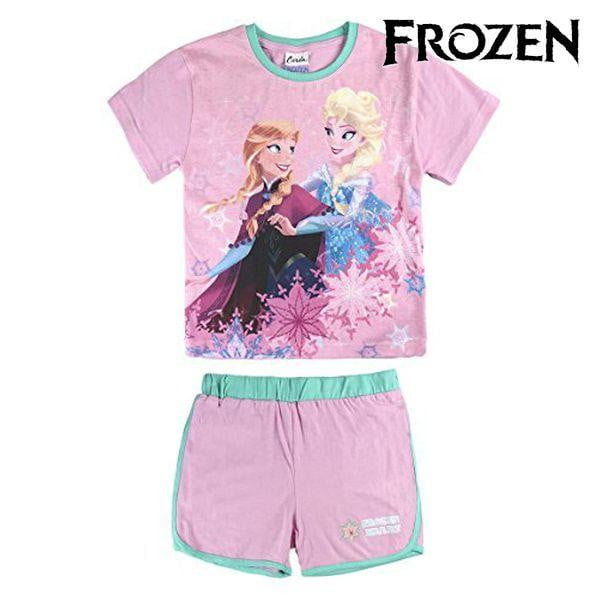 T-shirt med shorts för barn Frozen