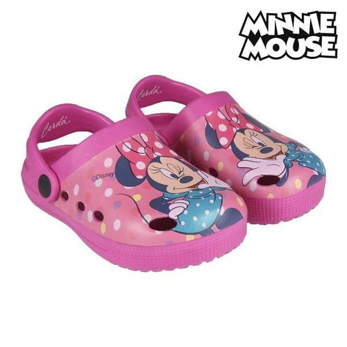 Strandtofflor Minnie Mouse Rosa