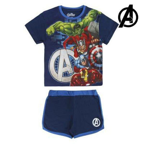 T-shirt med shorts för barn The Avengers