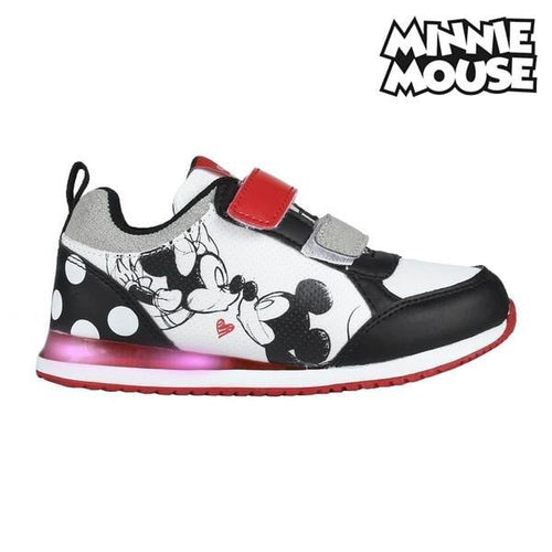 Barnskor med LED-ljus Minnie Mouse