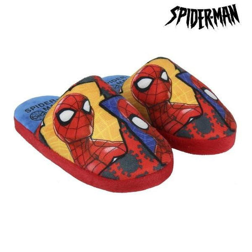 Tofflor Spiderman Röd