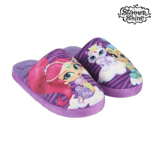 Tofflor Shimmer and Shine Lila