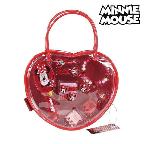 Frisörset för barn Minnie Mouse (10 pcs)