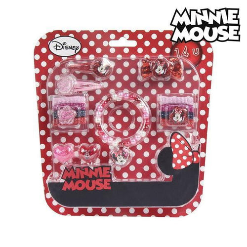 Frisörset för barn Minnie Mouse (14 pcs)