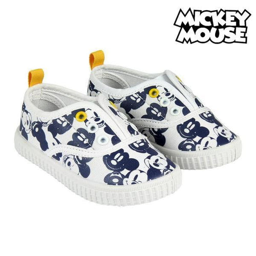 Barnskor Casual Barn Mickey Mouse Vit