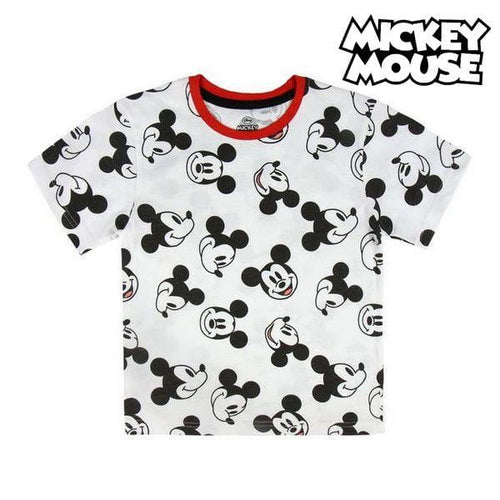 Barn T-shirt med kortärm Mickey Mouse