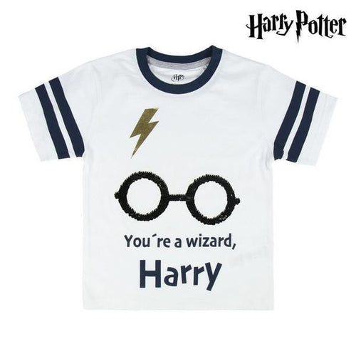 T-shirt med kortärm Premium Harry Potter
