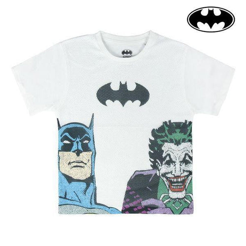 Barn T-shirt med kortärm Batman