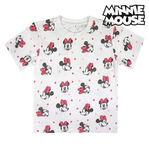 Barn T-shirt med kortärm Minnie Mouse