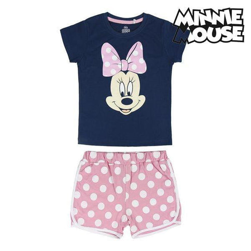 T-shirt med shorts för barn Minnie Mouse