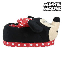 Tofflor 3d Minnie Mouse Röd