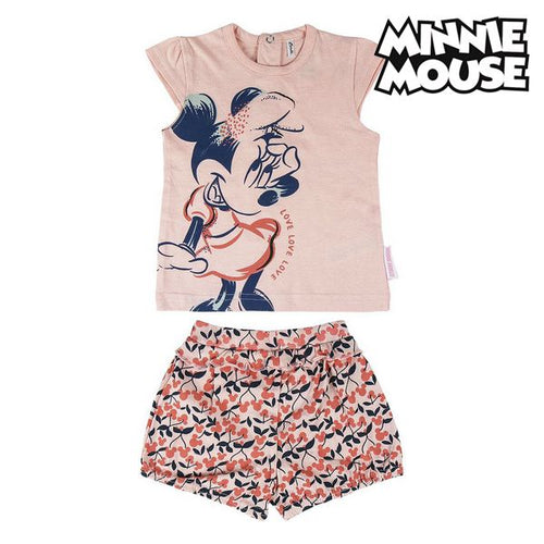 Set av kläder Minnie Mouse Rosa