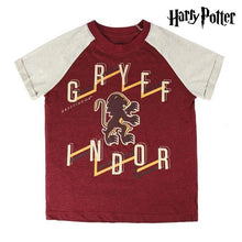 T-shirt med kortärm Barn Harry Potter Bordeaux