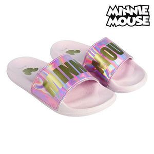 Badtofflor Minnie Mouse Rosa