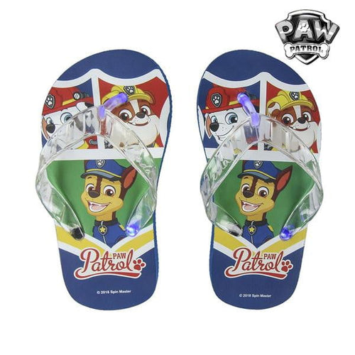 Flip-flops med LED-ljus The Paw Patrol