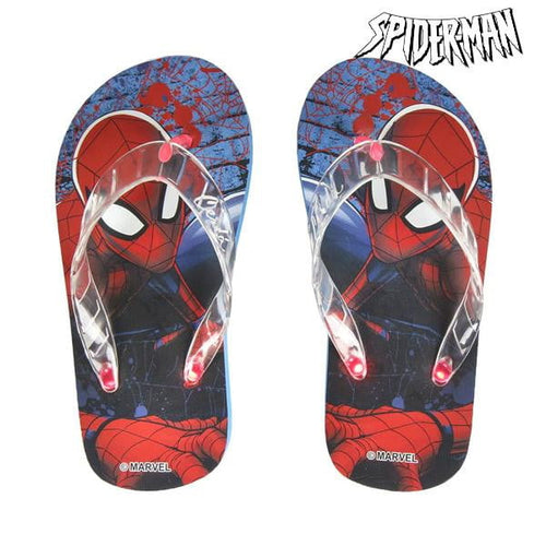 Flip-flops med LED-ljus Spiderman