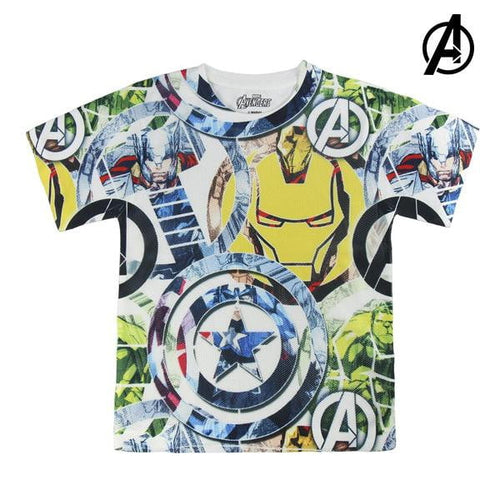 Barn T-shirt med kortärm The Avengers