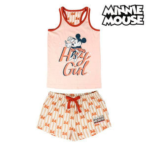 T-shirt med shorts för barn Minnie Mouse Rosa
