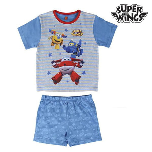 T-shirt med shorts för barn Super Wings