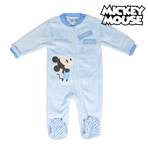 Babypyjamas Mickey Mouse Blå