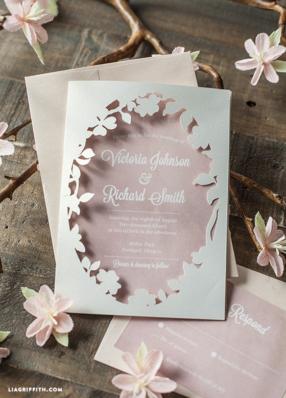 10 Stunning Spring 2016 Wedding Invitations