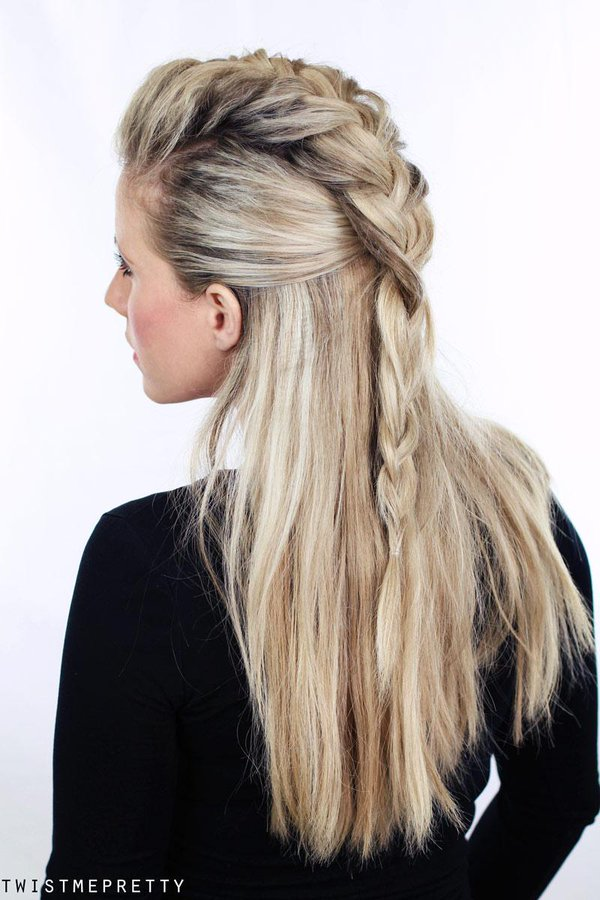 Lagertha hairstyle