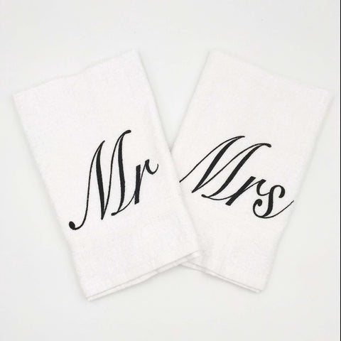 Mr. and Mrs. Towel Set