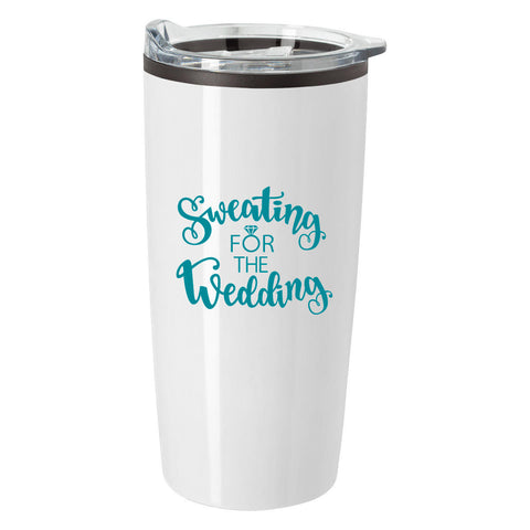 Sweating for the Wedding Tumbler