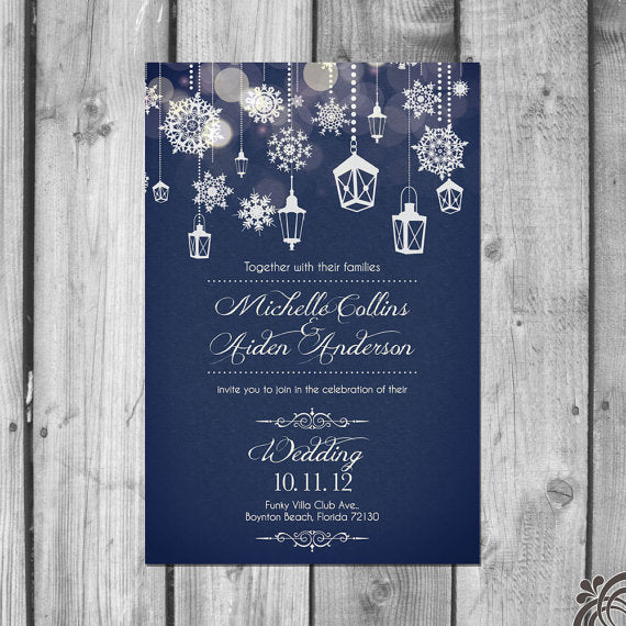 Wedding theme wedding invitations