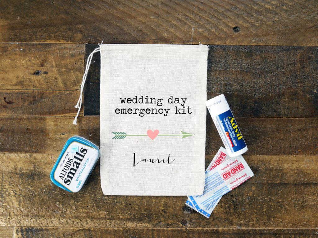 What to Have in Your Wedding Emergency Kit