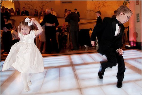 funny picture of kids dancing