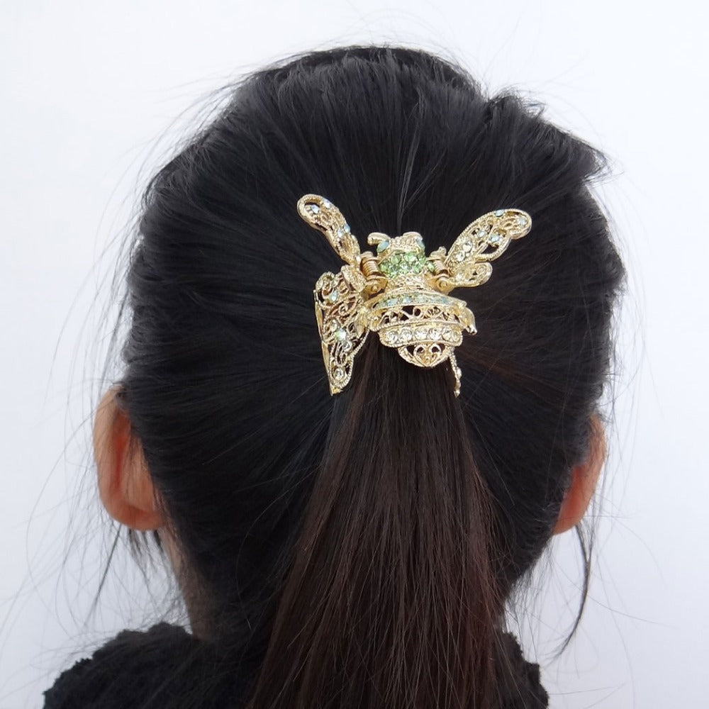 honey bee hair clip