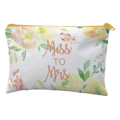 Miss to Mrs Makeup Bag