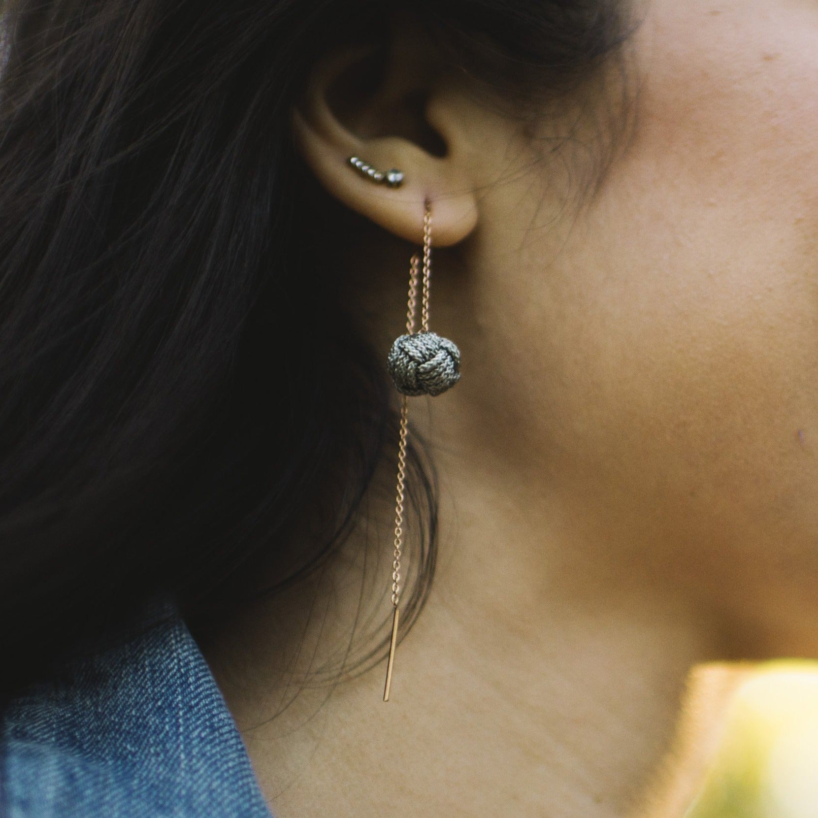 Unchained Threader Earrings
