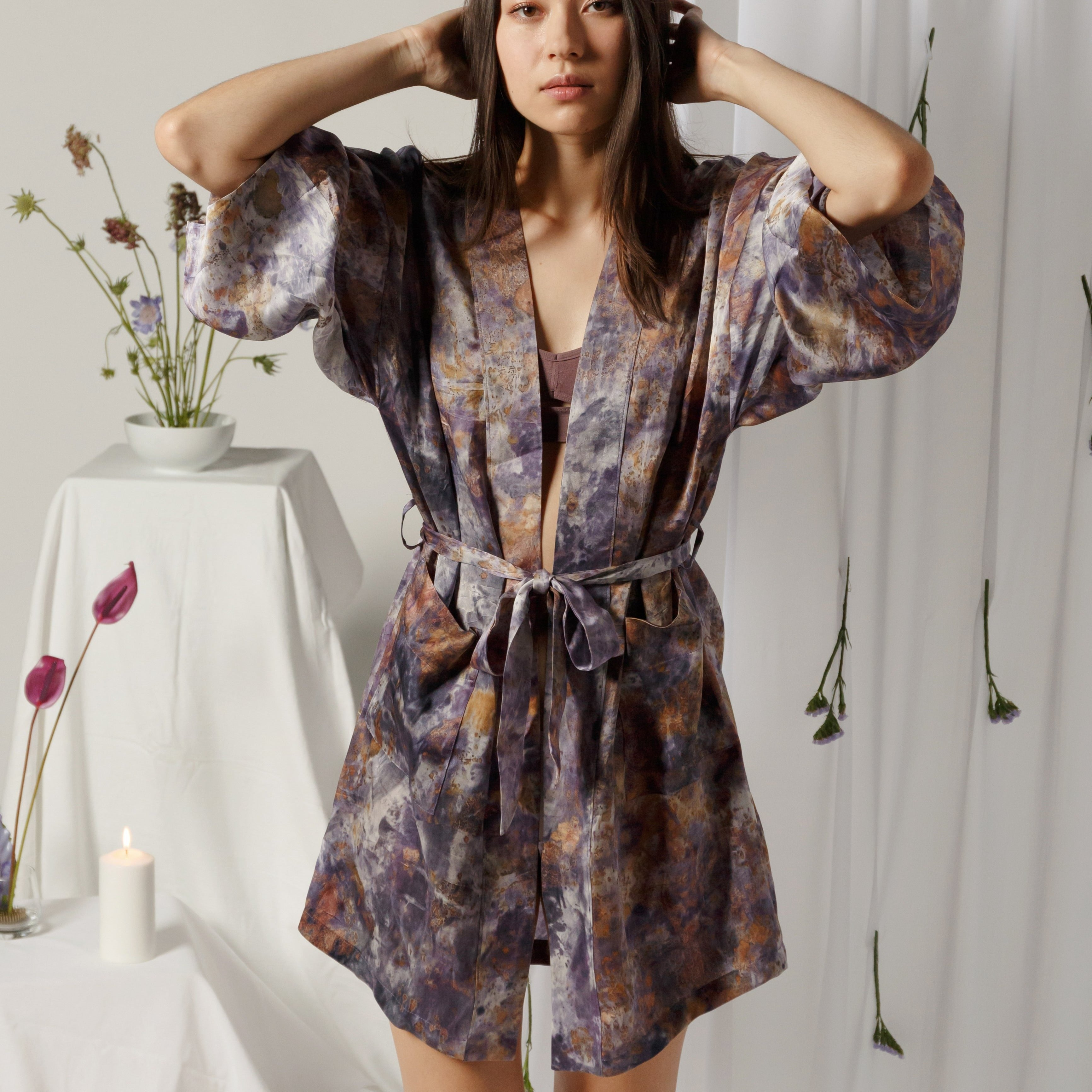 The Robe: Dark Amethyst (Made to Order)
