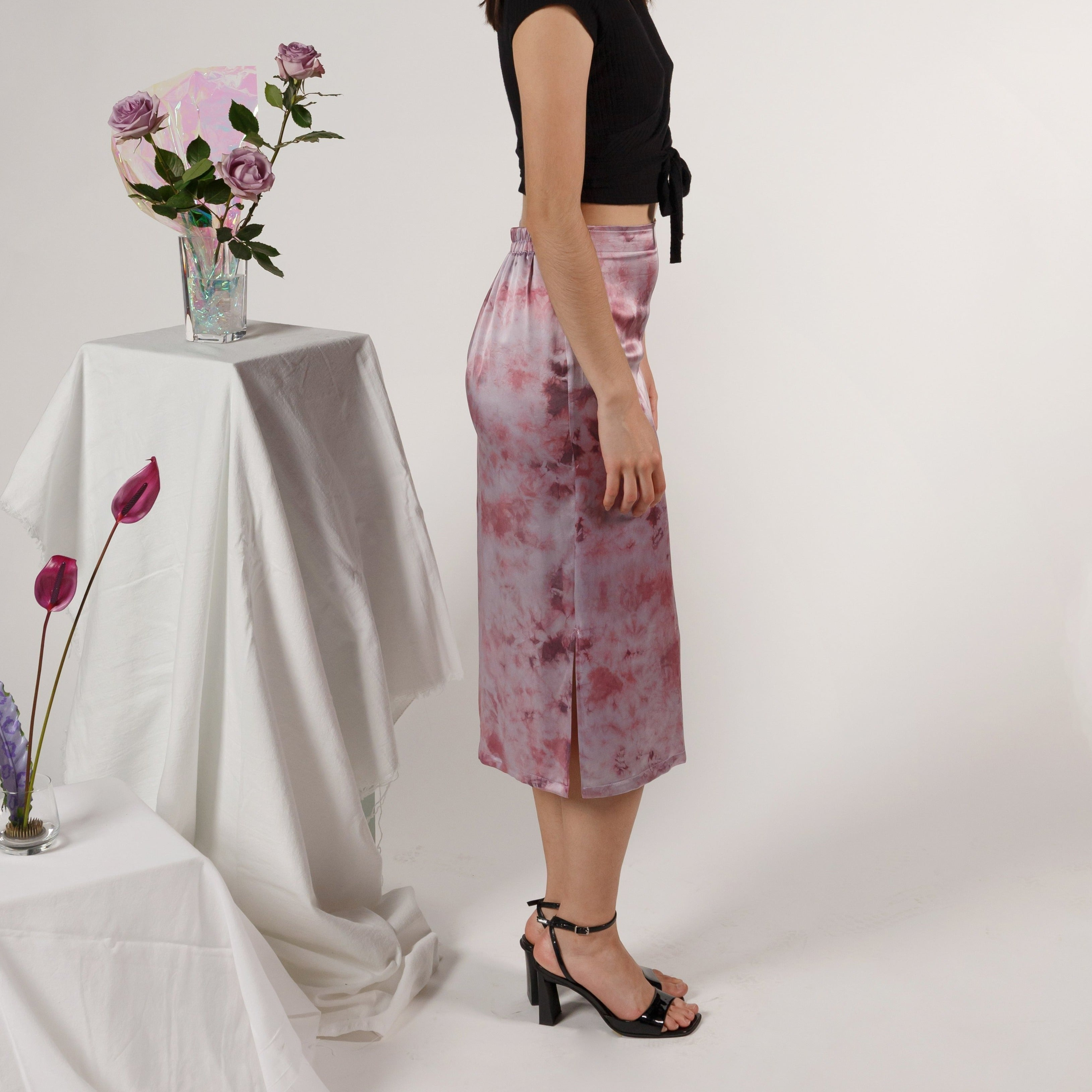 The A-Line Skirt: Amethyst (Made to Order)