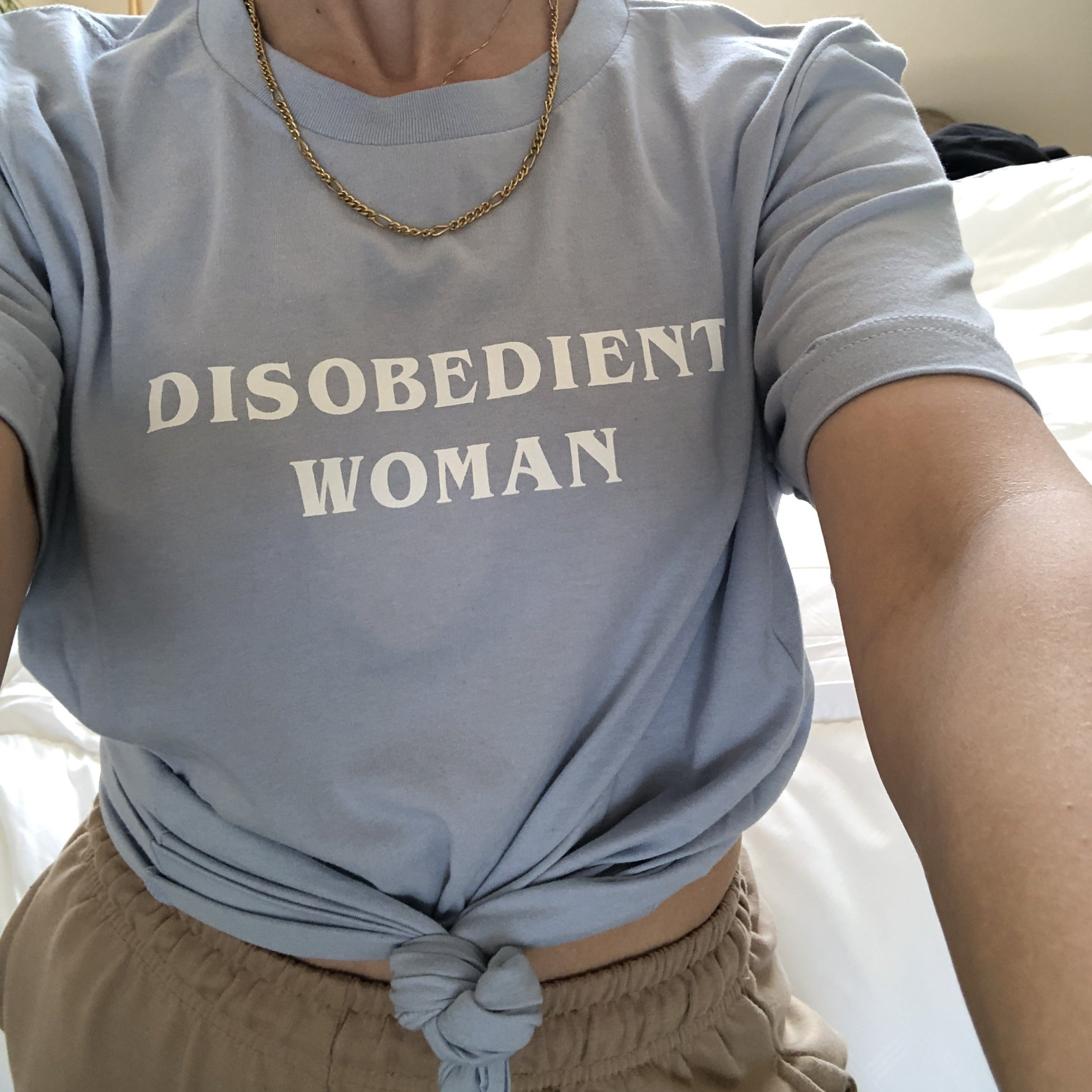 Disobedient Woman Tee