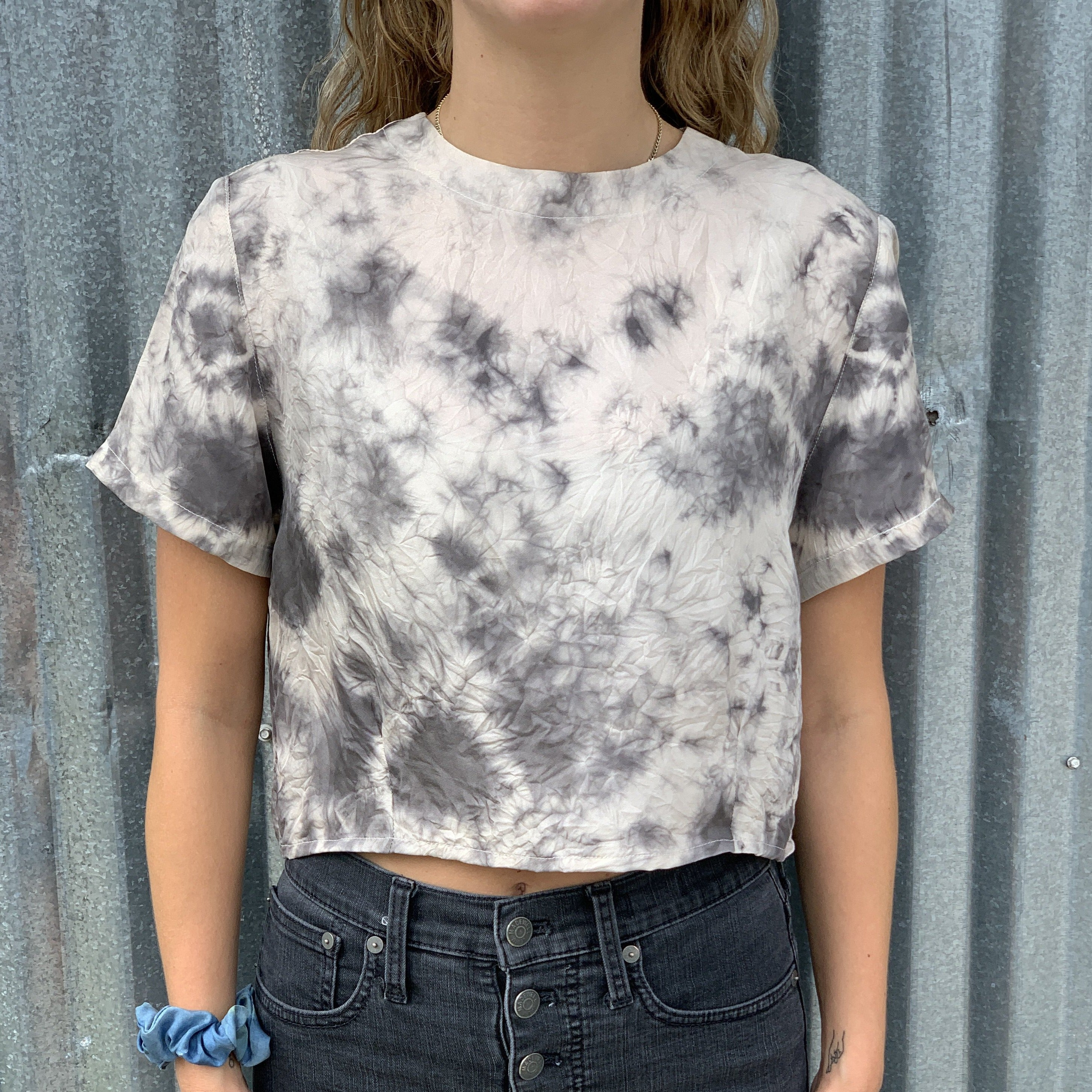 The Boxy Crop Top: Yin/Yang (Made to Order)
