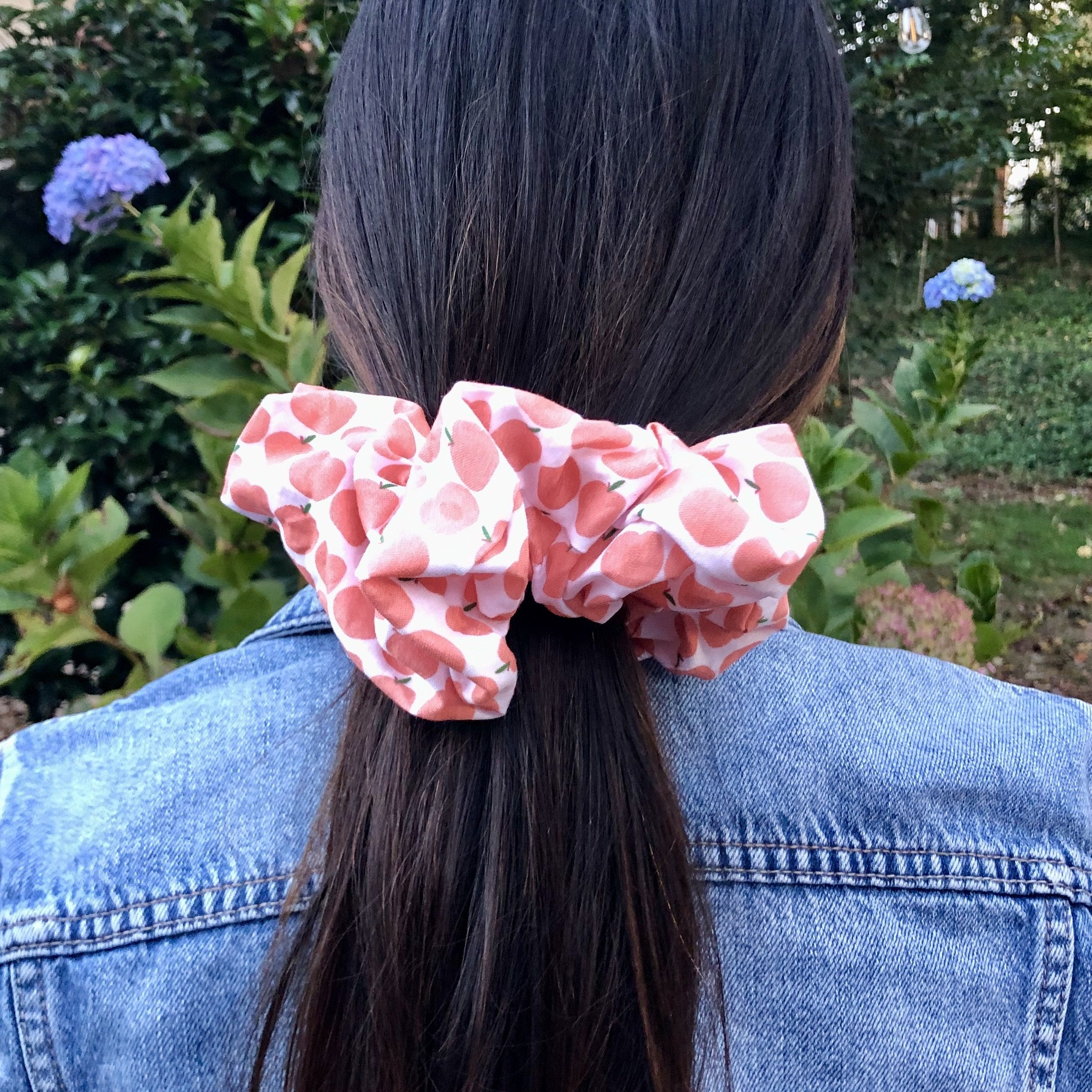 Peaches Scrunchies