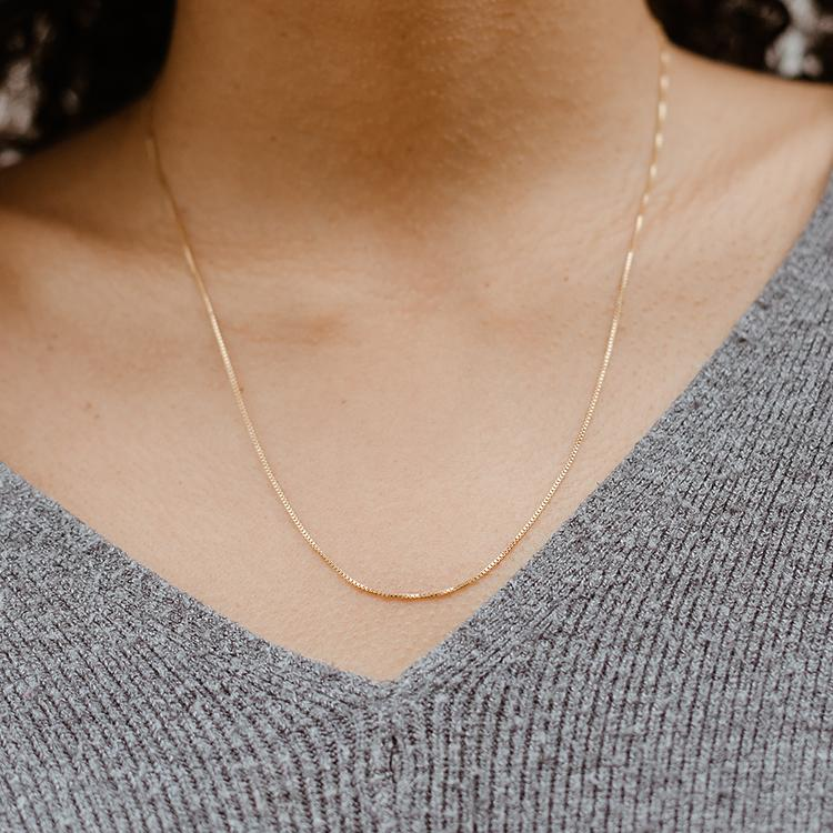 The Box Chain Necklace