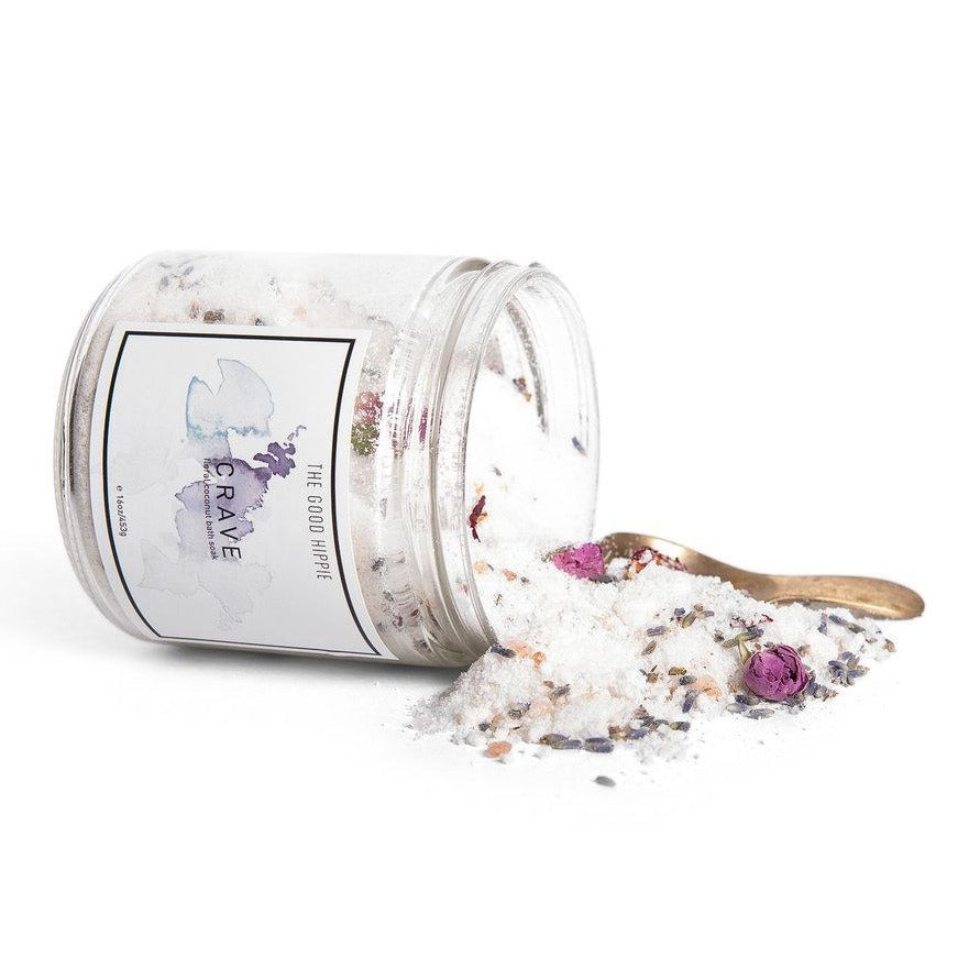 Crave Coconut Floral Bath Soak