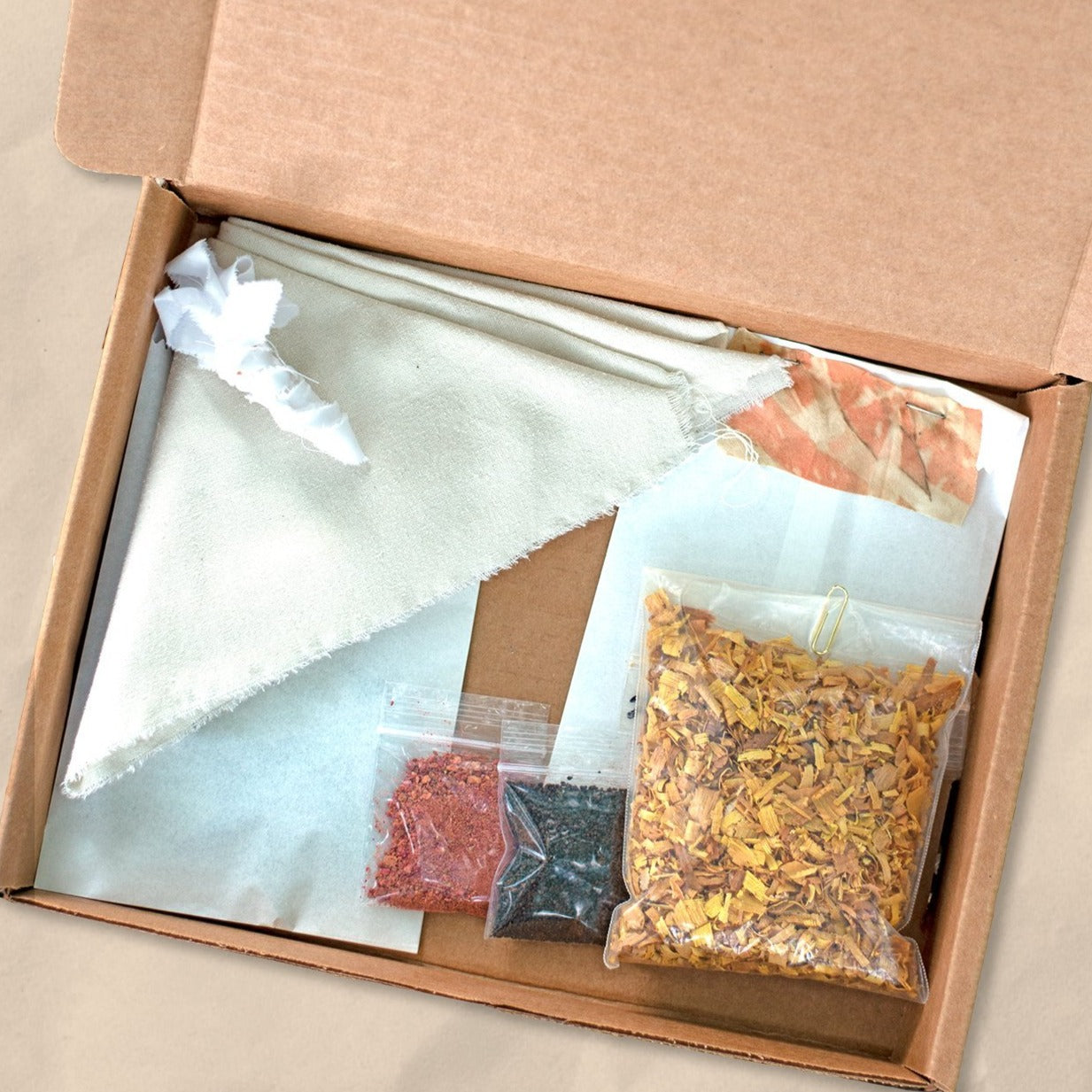 Natural Dye Kit: Bundle Dye (Yellows/Oranges)