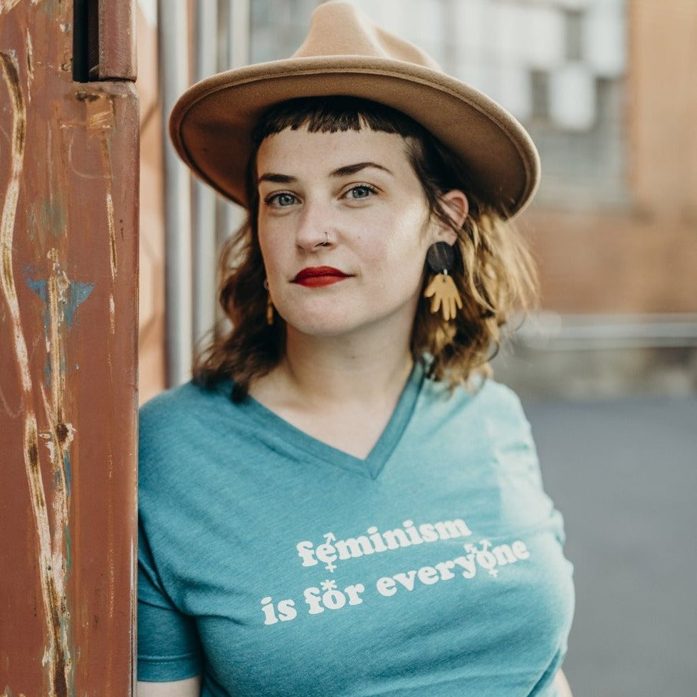 Feminism Is For Everyone V-Neck