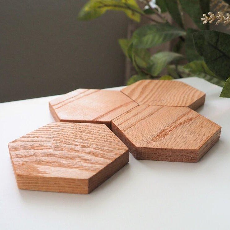 Hexagon Coasters Set
