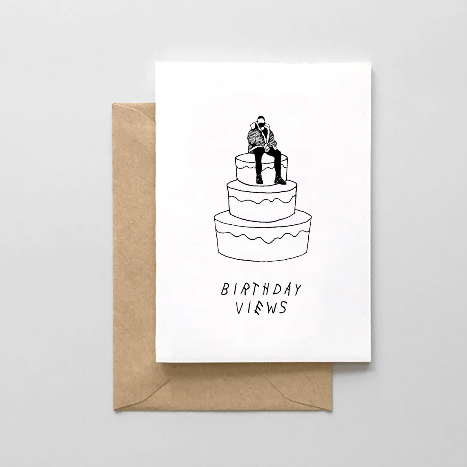Drake Birthday Views Card