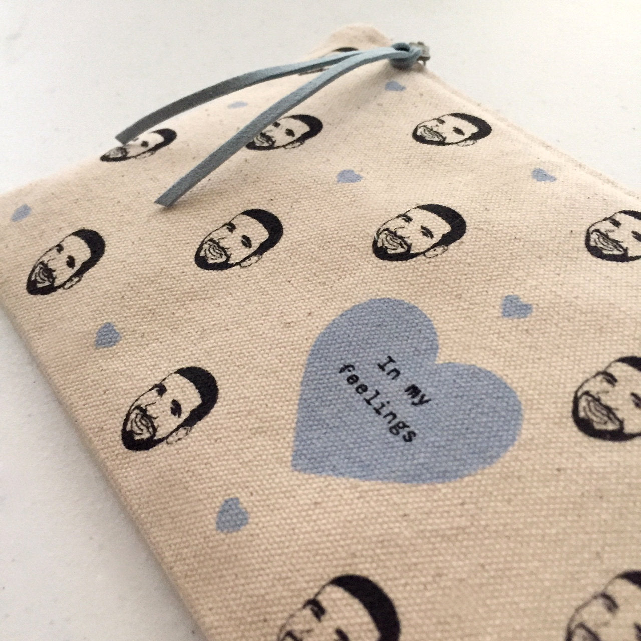 Drake - In My Feelings - Zip Canvas Pouch