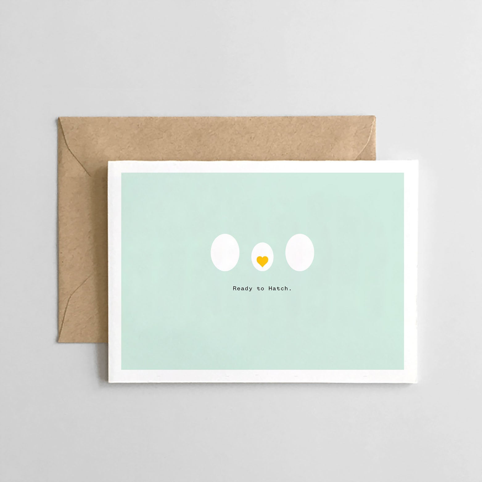 Ready to Hatch - Baby Card